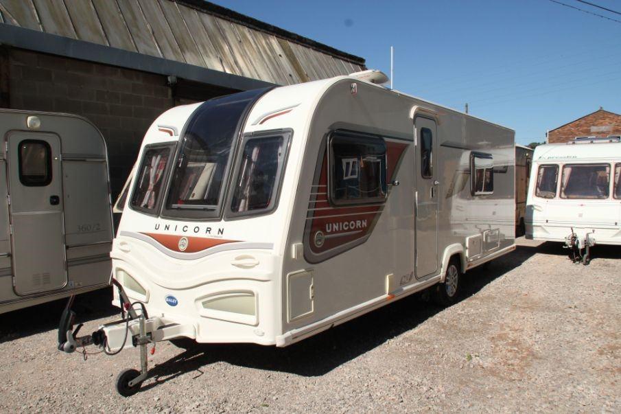 Bailey Unicorn touring caravan